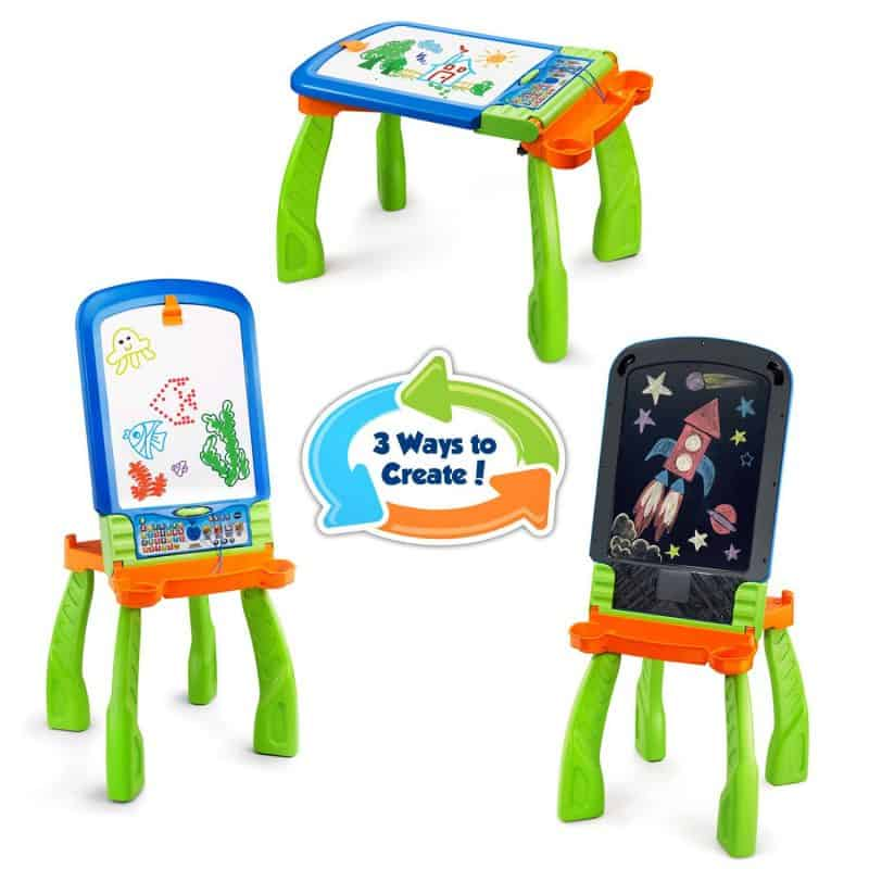 three ways to play with vtech creative easel