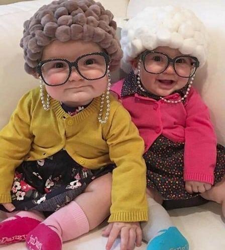 old ladys halloween costume