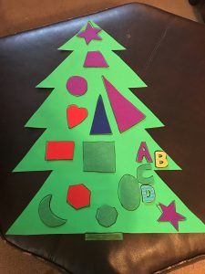 Preschool Shape Tree