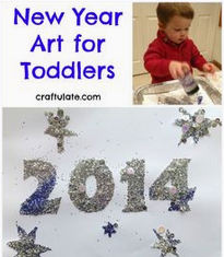 New Years Toddler Crafts