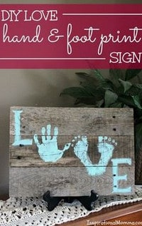 hand and foot print arts and crafts ideas for kids