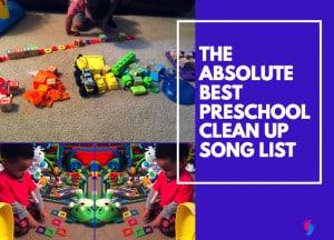 Preschool Clean Up Song