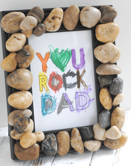 you rock fathers day project, Easy fathers Day Crafts are the Holy Grail of Fathers Day With Young kids! It is perfect for fathers day gifts ideas from kids. These easy crafts for kids will be a treat