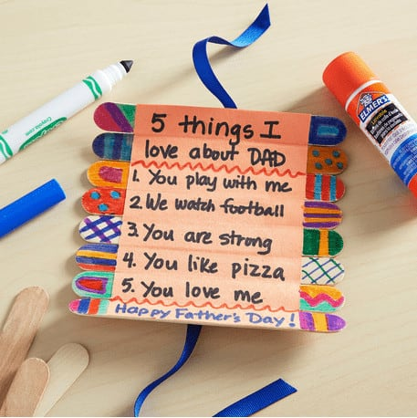 Easy fathers Day Crafts are the Holy Grail of Fathers Day With Young kids! It is perfect for fathers day gifts ideas from kids. These easy crafts for kids will be a treat