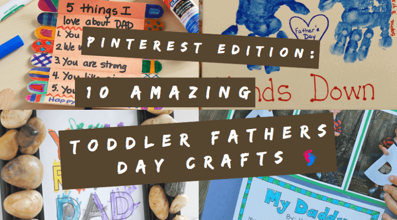 toddler fathers day crafts
