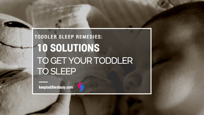 solutions to get toddler to sleep
