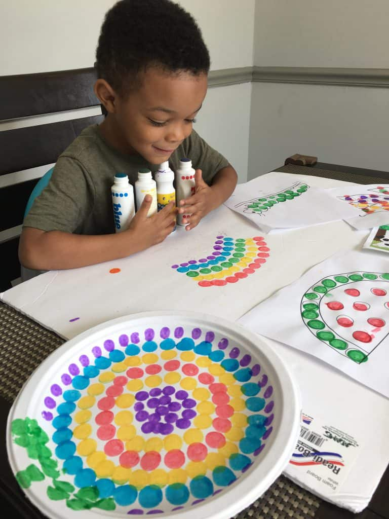 do a dot craft for preschoolers