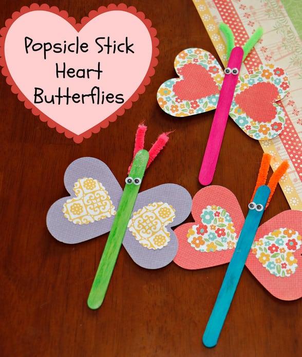 Butterfly Popsicle Sticks
