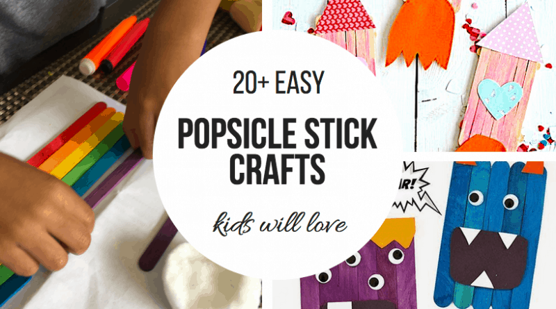 popsicle stick crafts kids