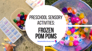 preschool sensory activities