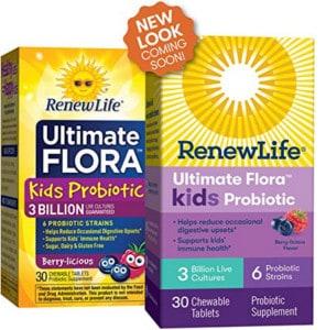 Renew Life Kids probiotic