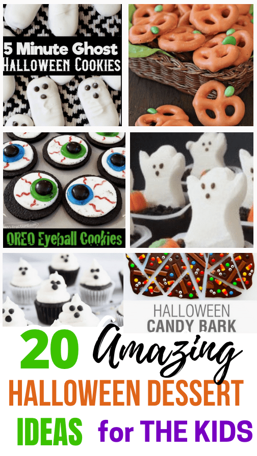 Impress And Delight With These Amazing Yet Easy To Make Halloween Desserts Ideas From Awesome Foodie Moms! Have Some Fun With The Family Making these Yummy Treats