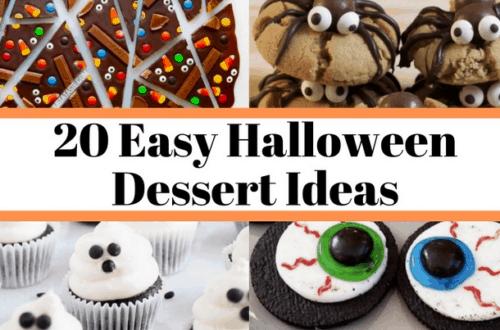 halloween dessert ideas