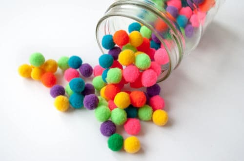 pom pom crafts for kids