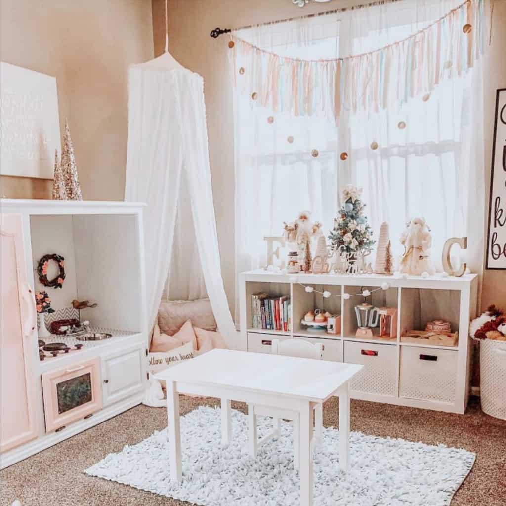 feminine playroom
