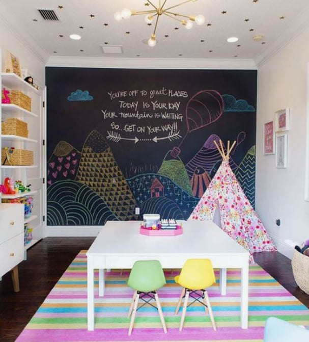 Messy Play Space Into An Organized and Safe Play Haven For Kids. Small Playroom designs and, playroom storage ideas, too. Playroom Organization is key!