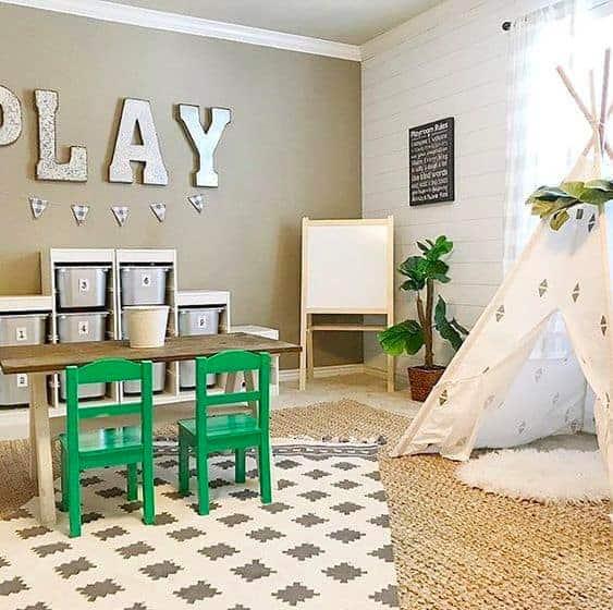 Farm House Playroom