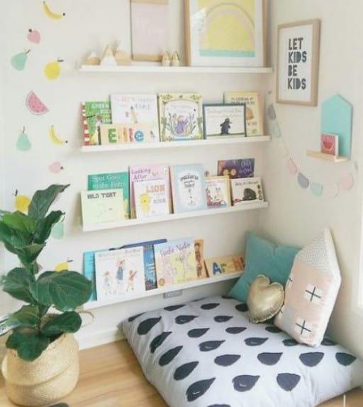 reading nook playroom