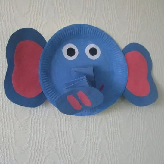 Elephant Paper Plate
