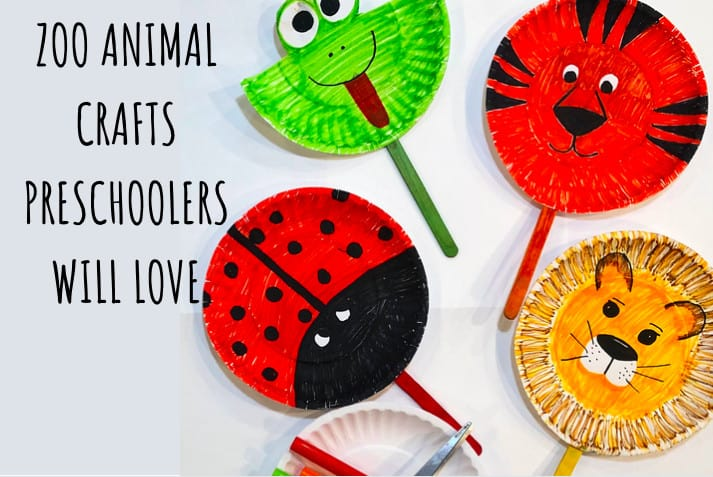 Zoo Animal crafts preschool