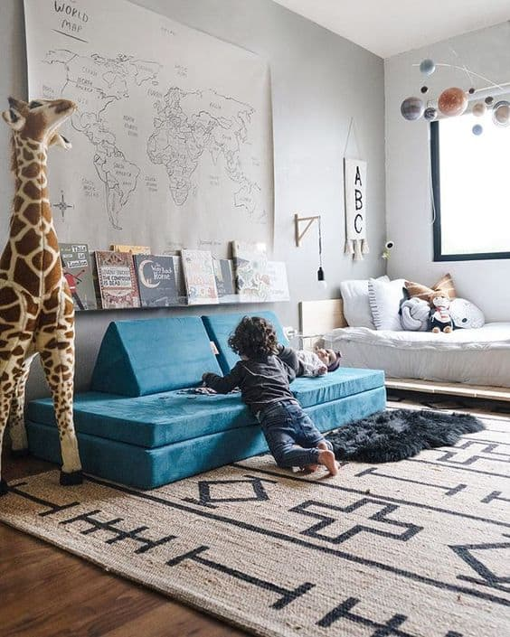 Mommy Experts Share 50 Playroom Ideas That Will Turn Your Child's Messy Play Space Into An Organized and Safe Play Haven For Kids. Small Playroom designs too. Playroom Organization is key!