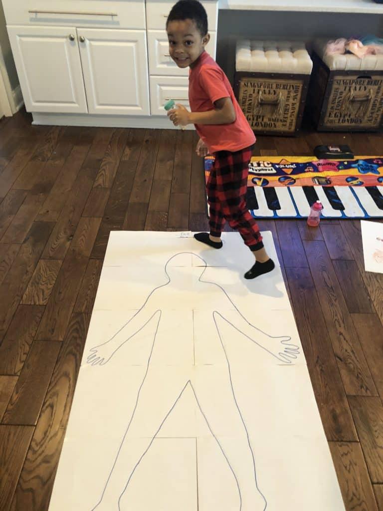 body parts activity