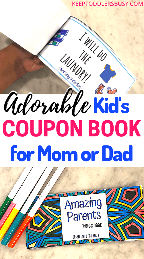 A Great Gift For Mom or Dad!This Amazing Parent's Coupon Book Gift Ideas is just absolutely GENIUS! This Mother's or Father's Day Gift From Kid's is a perfect keepsake crafts gift. Try out this coupon book for mom or dad