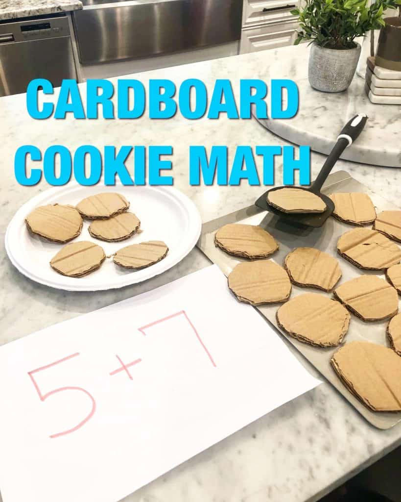 Fun Preschool learning activities are a great way to get your kids interested in math! Pretend play preschool activities combined with preschool math games will be a hit. My toddler enjoyed this activity idea too.
