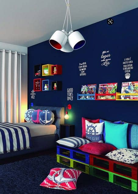 bedroom Storage Ideas Are A Must See! Clever Storage and Beautiful Designs Create the Perfect Bedroom For Boys and Girls