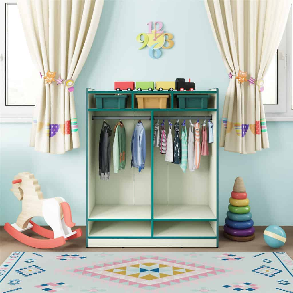 Mommy Experts Share 50 Bedroom Storage Ideas That Will Turn Your Child's Messy Bedroom Space Into An Organized and Safe Play and Spleep Haven For Kids.
