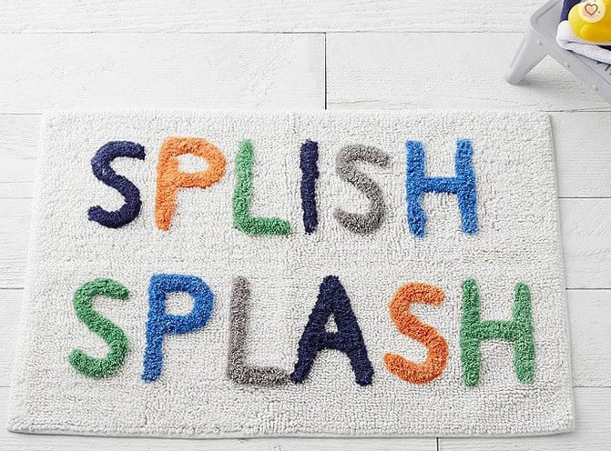 splish splash bath rug