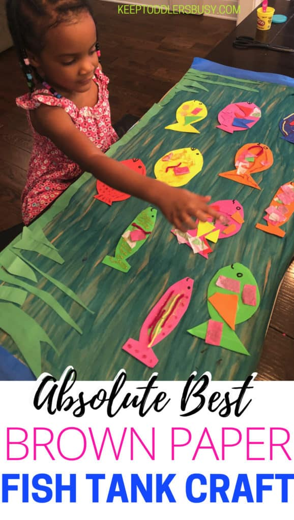 Looking For Amazing Fish Crafts For Kids, Or Just Kid's Crafts In General!? Look No Further! Your Child Will Be Super Proud Of This Beautiful Art Project.