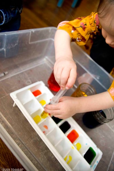 These Toddler Science Experiments will be ideal for preschoolers and toddlers and include dye toddler science experiments as well as more simple toddler science activities