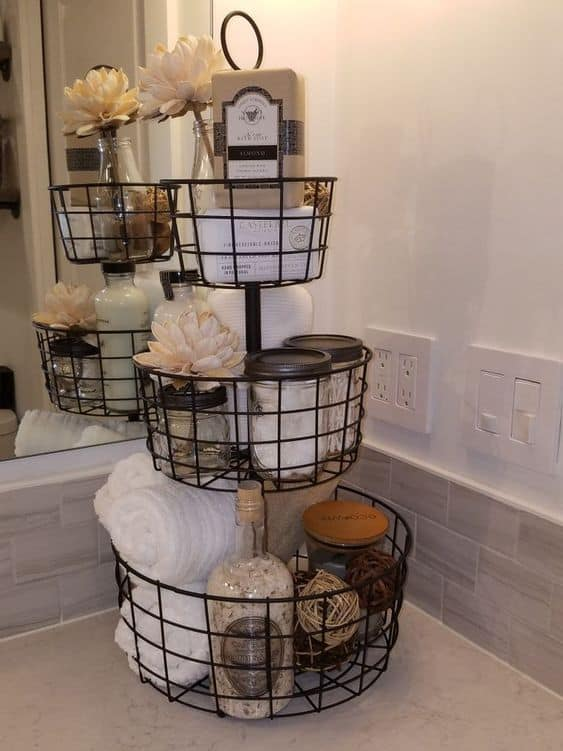 This Compilation of Amazing Kid's Bathroom Ideas Will Have You Wishing you Saw This Earlier! Bring Beautiful Organization To Your Kid's or Toddler's Bathroom! Kids bathroom decor ideas or shared bathrooms, boy's bathroom ideas, and girls bathroom ideas included