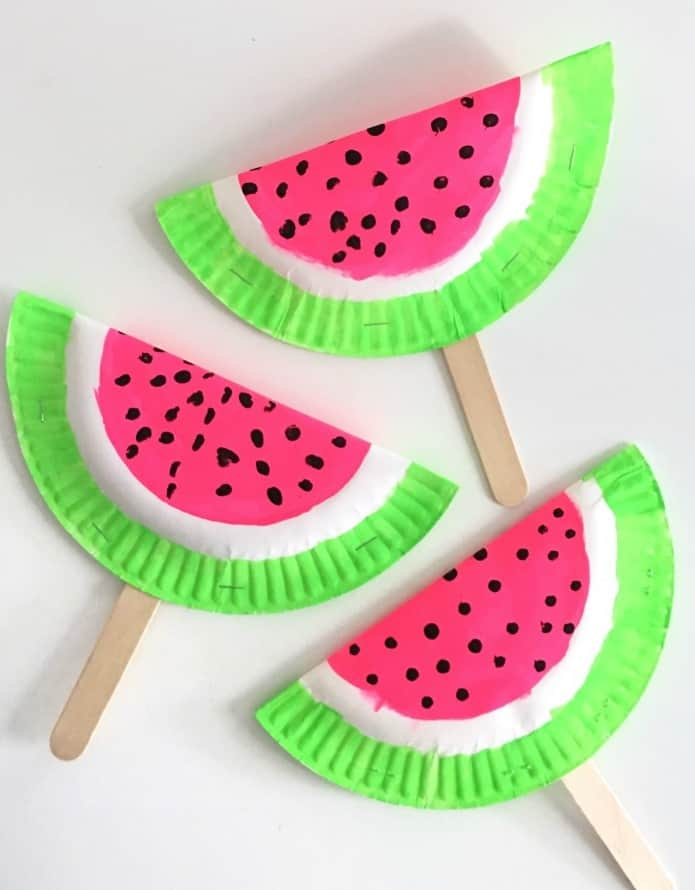 summer watermelon craft