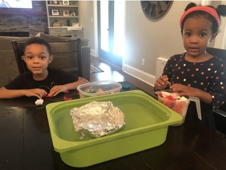 toddler science activity sink the boat