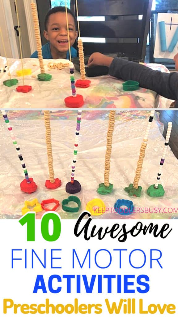 Check Out An Awesome Compilation Of The Best Fine Motor Activities for Preschoolers. These Fine Motor Skill Activities Shared By Great Mommies Are Great For Toddlers Too.