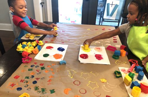 This Easy Preschool Shape Activity Will Be An Absolutely Hit And Great Addition To Your Preschool Or Toddler Activities! Check Out The Fun And Then Set Up Your Toddler Craft Today