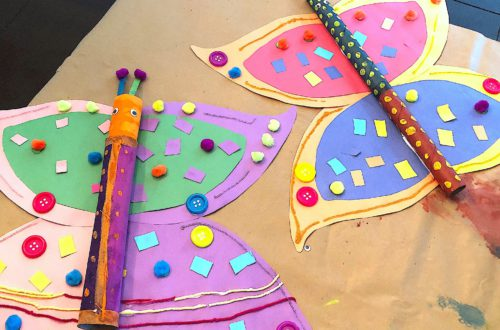 A paper towel roll crafts for kids-min