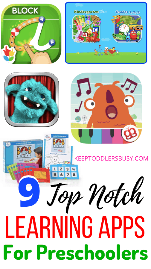 This amazing list of educational apps is top notch and great for babies, toddlers, and young children. These Learning Apps for Preschoolers will Be a Hit.
