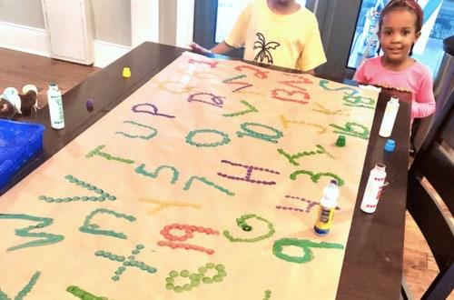 learning activities for preschoolers dot