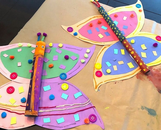A paper towel roll crafts for kids