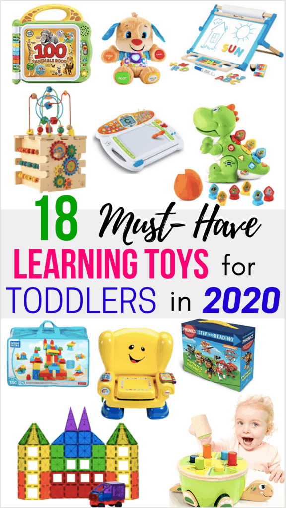 Keep Your Child Happy, Engaged, and Learning With This List of Fun & Educational Toys! These Are The Best Learning Toys For Toddlers This Year. Supplement Kid's Learning Activities With Great Toys!