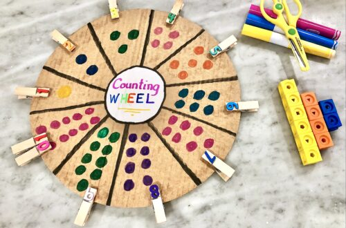 Inspire Your Child To Love Learning With Ease and Fun. This Preschool Learning Activity Will Make Learning Interesting and Hands-on. Skills Include Number Recognition, Counting, Fine Motor Development