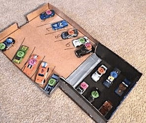 car matching game counting for toddlers
