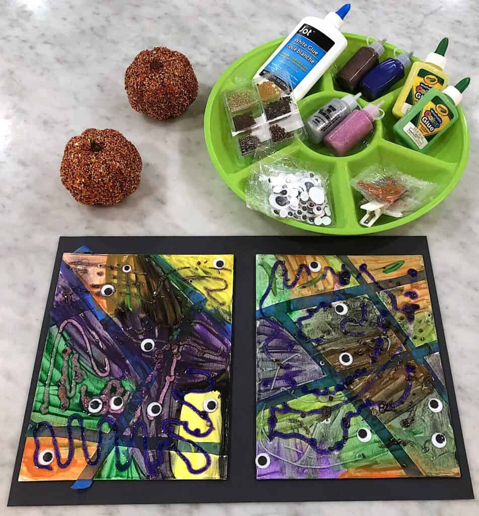 Awesome Halloween Art For Kids Are A Must Have For the Season! There Is Nothing Young Kids Love More Than Messy Projects That Allow For Creativity and Fun.