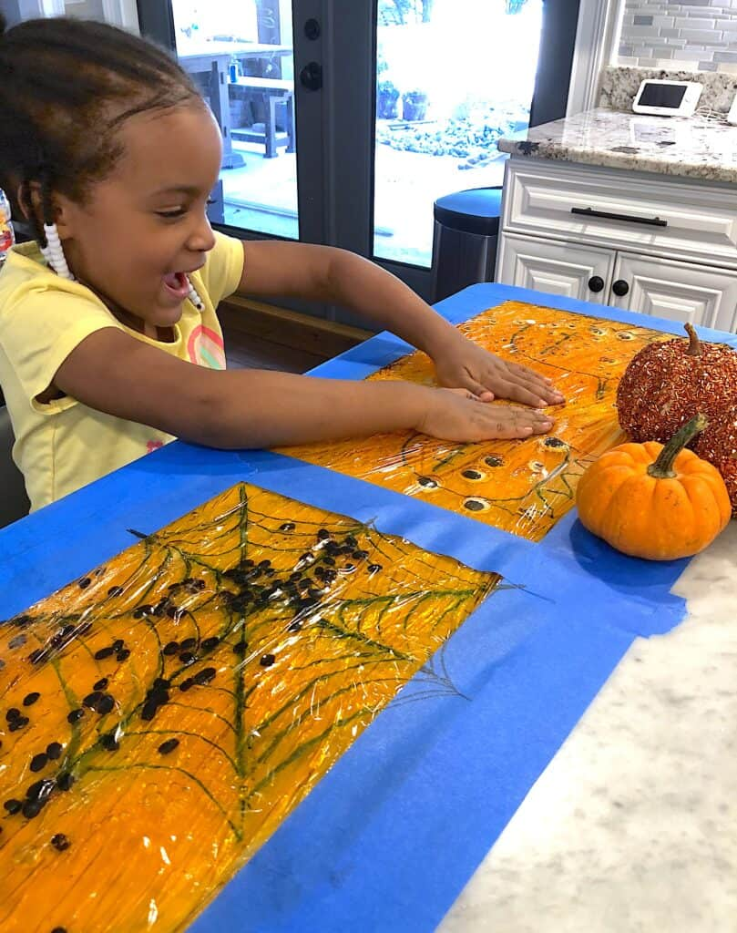 Halloween Sensory Activities Are An Absolute Must-Have Addition To Your October Plans With Your Kids! This Cool Activity Inspires Just Plain Fun and Learning. Its the Ultimate Halloween Craft for Kids