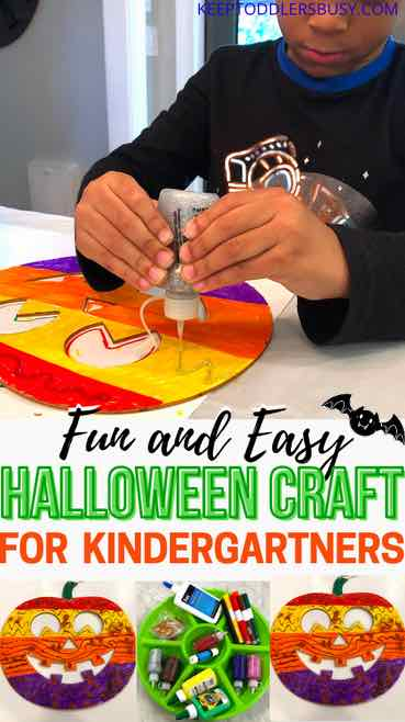 halloween craft for kindergarten