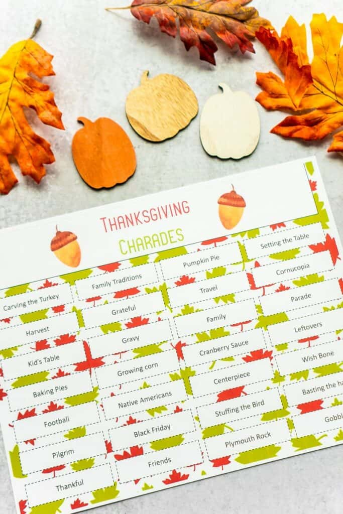 Get Creative with This Amazing Compilation Of Thanksgiving Games For Family Fun That Will Absolutely Be a Hit this Season! Activity Moms Share Amazing Games!