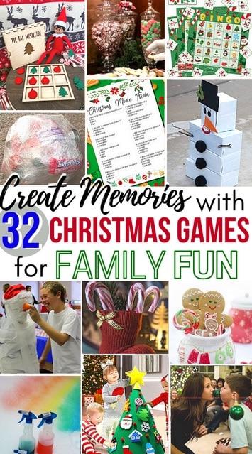 Christmas Games for Family Fun